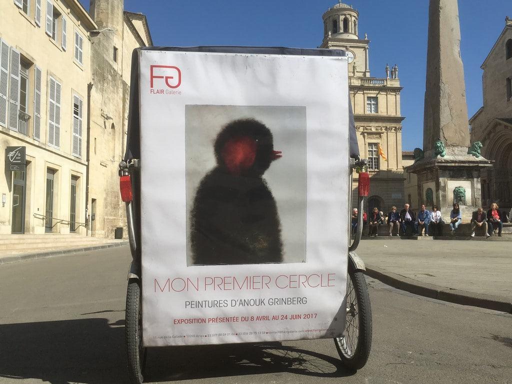Exposition d'Anouk Grinberg à la galerie Flair, 11 rue de la Calade à Arles