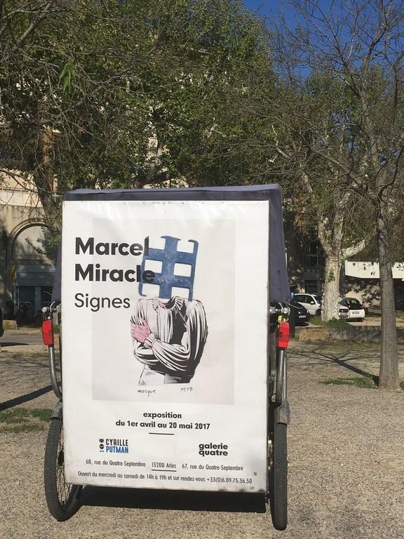 Une nouvelle exposition de Marcel Miracle, Signes, à la galerie Cyrille Putman à Arles
