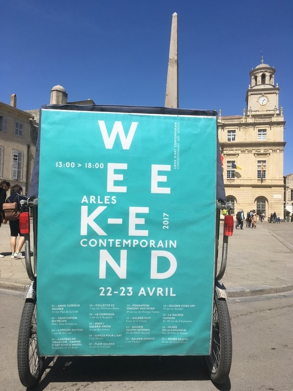 Week-end Arles Contemporain: 22 et 23 Avril 2017 à Arles