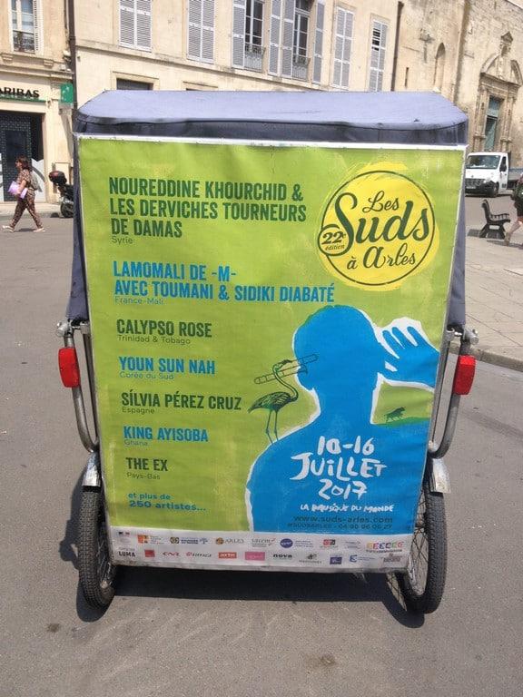 Les Suds à Arles, festival de musique du monde, du 10 au 16 juillet 2017 à Arles