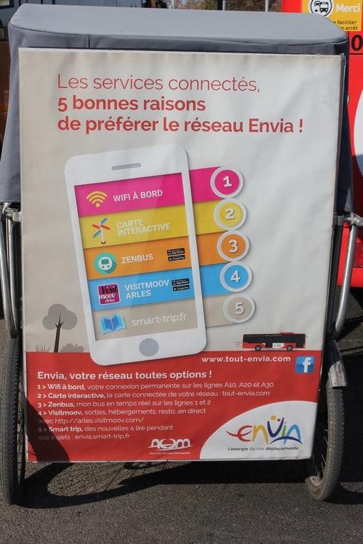 Wifi et services connectés dans les bus du réseau Envia
