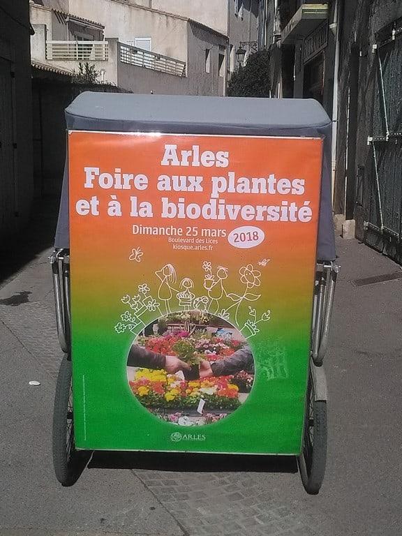 Foire aux plantes et à la biodiversité à Arles le 25 Mars 2018