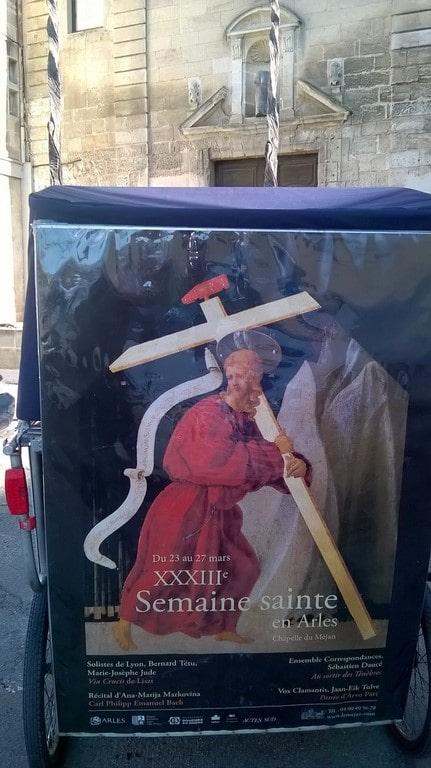 Semaine sainte en Arles du 23 au 27 Mars 2018 à la chapelle du Méjean