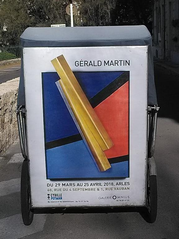 Gérald Martin expose chez Putman et à la galerie Omnius
