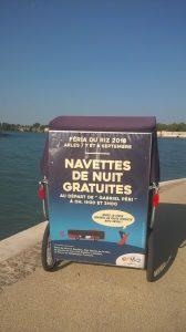 Navettes de nuit gratuites Envia pour la féria de Septembre 2018 à Arles