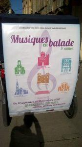 Musiques en balade jusqu'au 11 Novembre 2018 dans le pays d'Arles