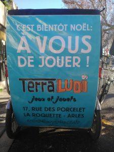 Terra Ludi, votre magasin de jeux et de jouets à Arles au 17 rue des Porcelets