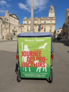La journée des producteurs, le 07 Avril 2019 au Marais du Vigueirat à Arles