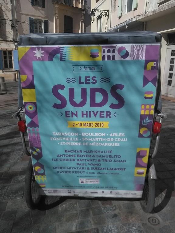 Les Suds en hiver du 02 au 10 Mars 2019 à Saint-Martin-de-Crau, Boulbon, Arles, Fontvieille, Tarascon, Saint-Pierre de Mézoargues