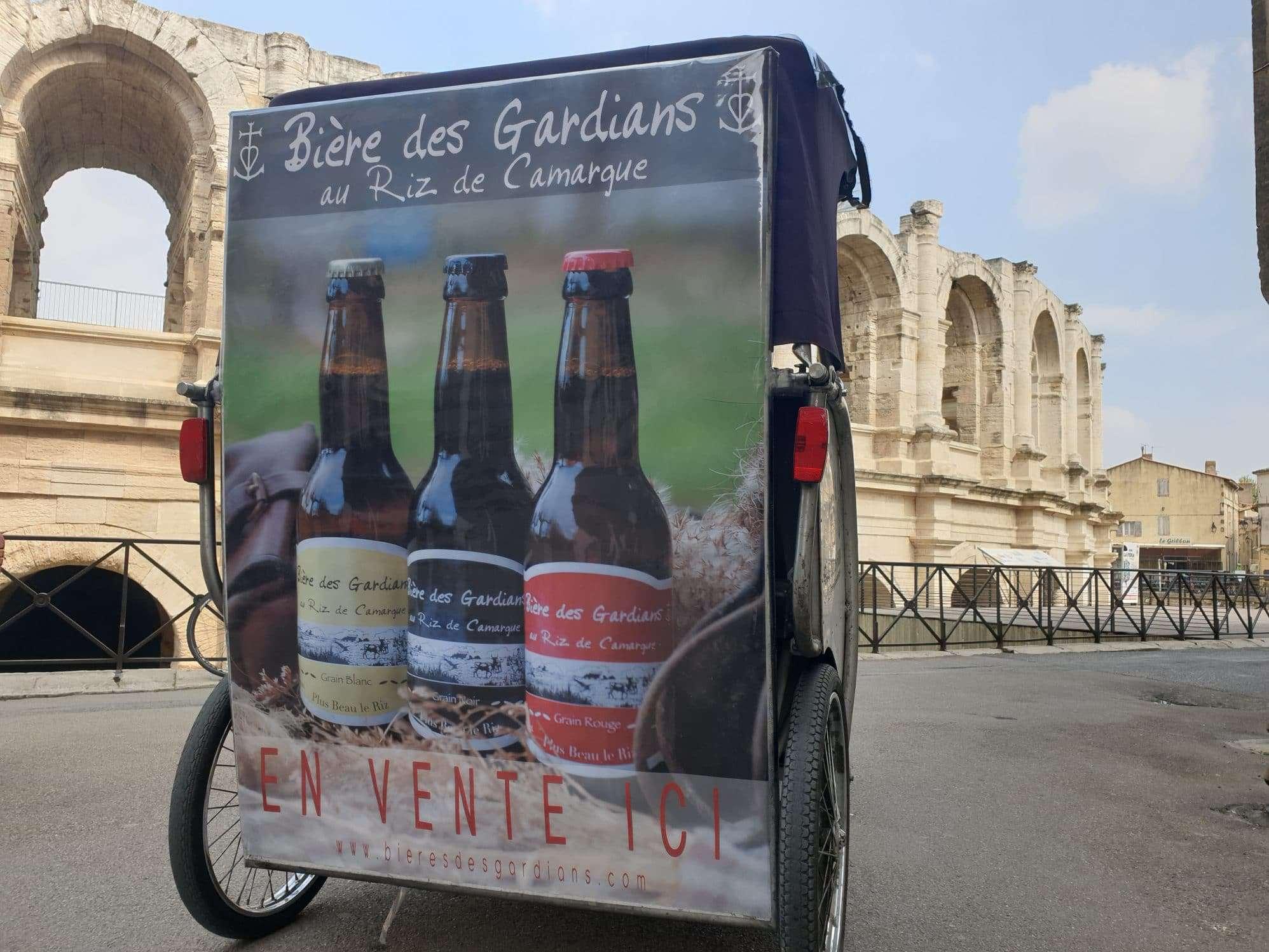La bière des Gardians, la bière de riz du pays d'Arles