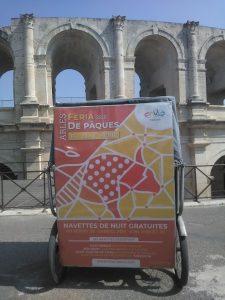 Navettes gratuites Envia pendant la Féria de Pâques 2019 à Arles