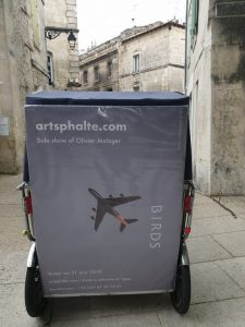 Artsphalte, nouvelle galerie d'art contemporain  vous présente sa première exposition en ligne «Birds»