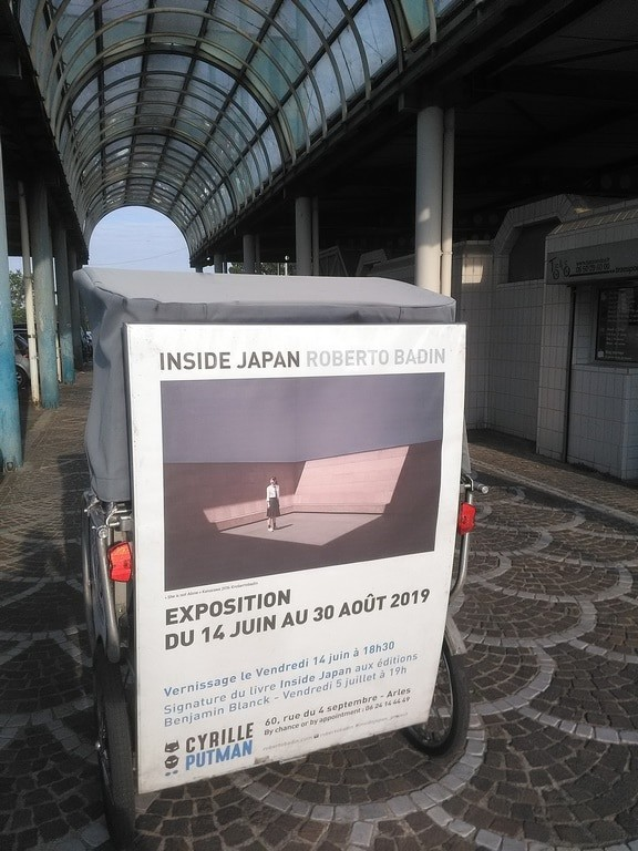 Roberto Badin expose ses photos chez Cyrille Putman du 14 juin  au 30 août 2019