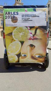 Rencontres Arles 2019: Déplacez vous dans Arles en vélo taxi avec Taco and Co