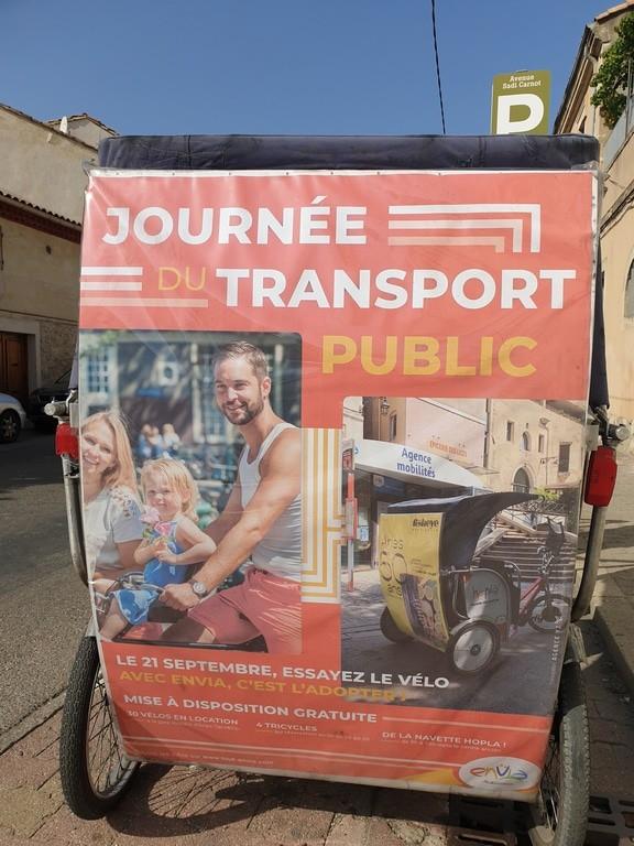 Journée de la mobilité 2019 à Arles: Tous les services de Taco and Co seront gratuits