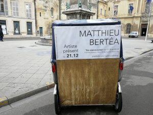 Des espaces autres: exposition de Matthieu Bertéa à la galerie Artsphalte jusqu'au 22 décembre 2019