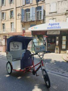 Hopla : la navette gratuite du centre ancien d'Arles en partenariat avec l'ACCM et Envia