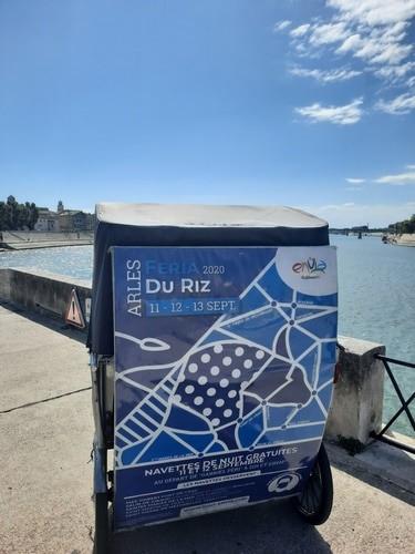 Navettes gratuites Envia pendant la Féria du riz d'Arles 2020 les 10 et 11 septembre.