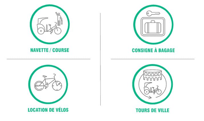 Ouverture Luma Arles : transport à la demande, consigne à bagages, location de vélo, tours de ville avec Taco and Co