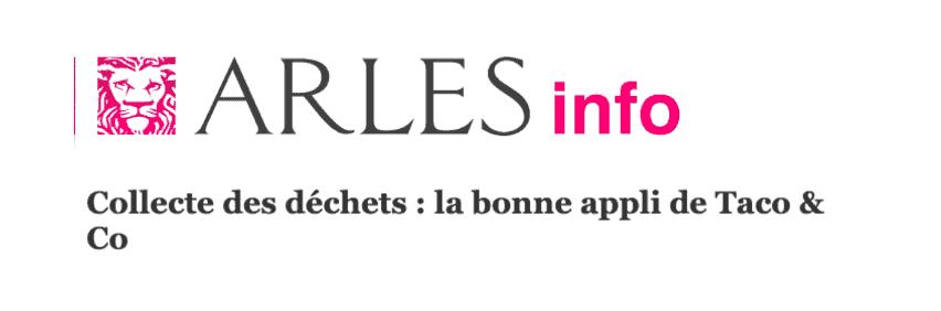 L'appli Taco and Co dans Arles Info