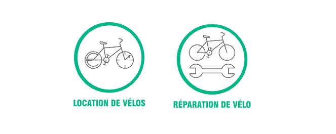Location et Réparation de vélos chez Taco