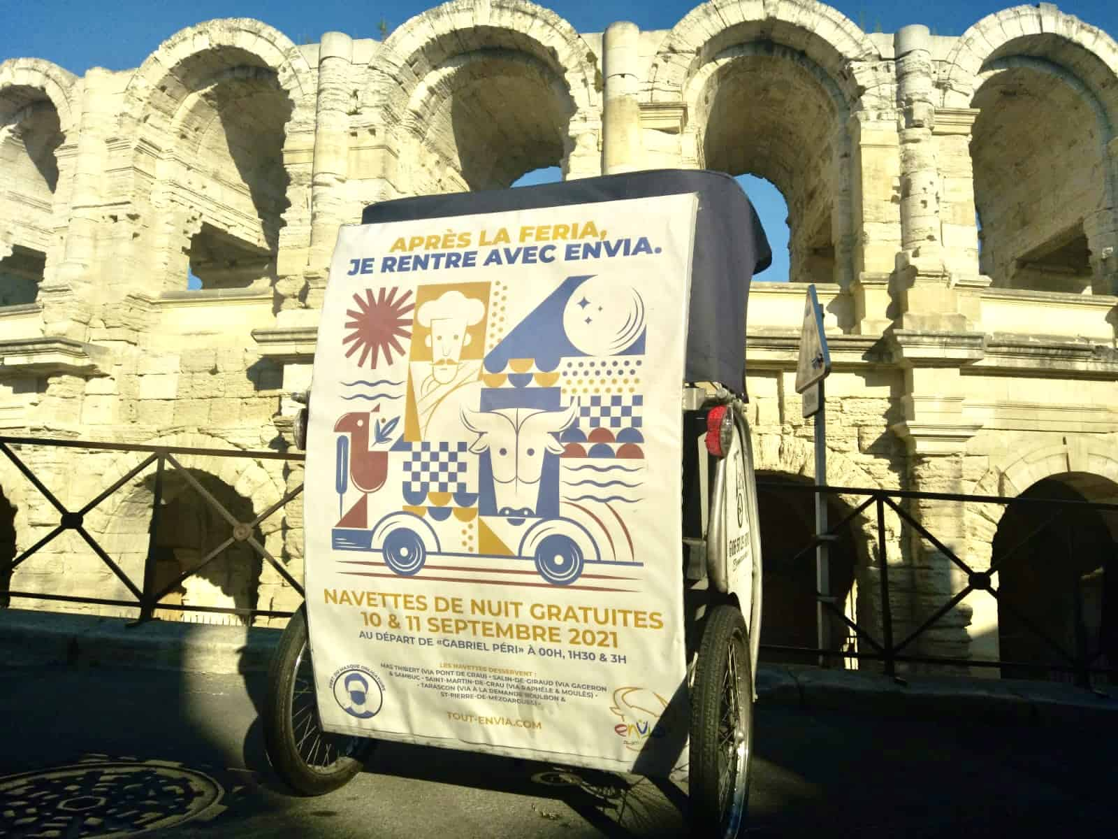 Féria d'Arles : Navettes de nuits gratuites !
